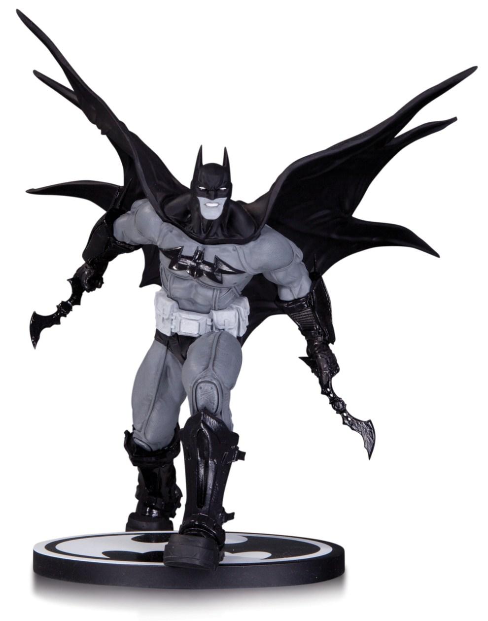 BATMAN BLACK & WHITE STATUE BATMAN BY DANDA $79.95