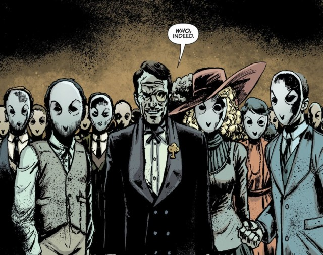 "Introduced into ""The New 52"" Batman mythology, the Court of Owls revealed a darker nature to Gotham's high society."