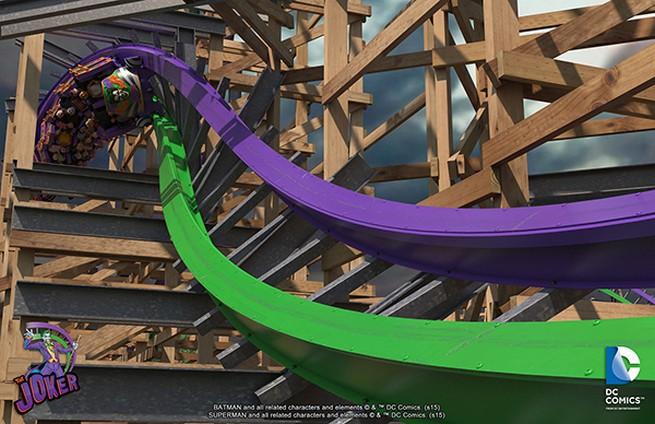 The Joker rollercoaster 3