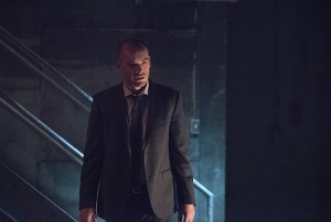 """Arrow -- """"Beyond Redemption"""" -- Image AR405B_0334b.jpg -- Pictured:  Paul Blackthorne as Quentin Lance -- Photo: Dean Buscher/ The CW -- © 2015 The CW Network, LLC. All Rights Reserved."""