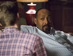 "The Flash -- ""Family of Rogues"" -- Image FLA203a_0377b.jpg -- Pictured (L-R): Grant Gustin as Barry Allen and Jesse L. Martin as Detective Joe West -- Photo: Jeff Weddell/The CW -- © 2015 The CW Network, LLC. All rights reserved."