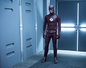 "The Flash -- ""Family of Rogues"" -- Image FLA203b_0472b.jpg -- Pictured: Grant Gustin as The Flash -- Photo: Diyah Pera/The CW -- © 2015 The CW Network, LLC. All rights reserved."