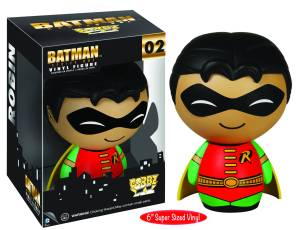 DORBZ XL DC BATMAN ROBIN 6IN VINYL FIG