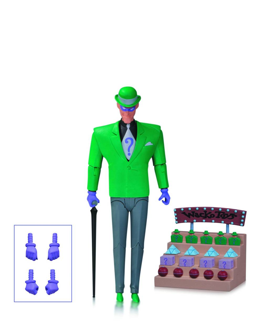 BATMAN ANIMATED BAS RIDDLER