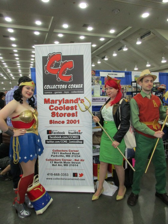 Wonder Woman, Bombshell Mera and Aquaman