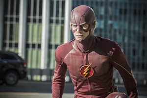 """The Flash -- """"The Man Who Saved Central City"""" -- Image FLA201c_0212b.jpg -- Pictured: Grant Gustin as The Flash -- Photo: Cate Cameron /The CW -- © 2015 The CW Network, LLC. All rights reserved."""