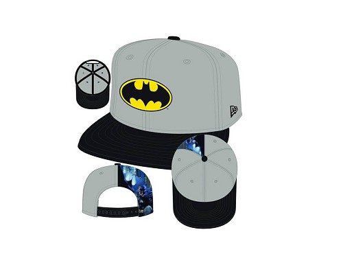 BATMAN QUARTER SUB 9FIFTY SNAP BACK CAP