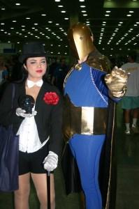 Zatanna and Dr. Fate