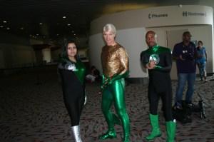 Green Lantern Corps and Aquaman