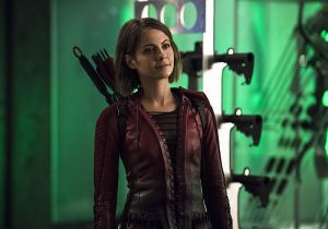"""The Flash -- """"Legends of Today"""" -- Image FLA208B_0098b.jpg -- Pictured: Willa Holland as Thea Queen -- Photo: Cate Cameron/The CW -- © 2015 The CW Network, LLC. All rights reserved."""