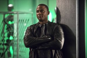"""The Flash -- """"Legends of Today"""" -- Image FLA208B_0097b.jpg -- Pictured: David Ramsey as John Diggle -- Photo: Cate Cameron/The CW -- © 2015 The CW Network, LLC. All rights reserved."""