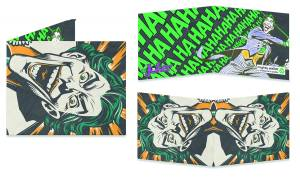 JOKER BILLFOLD WALLET $25.00