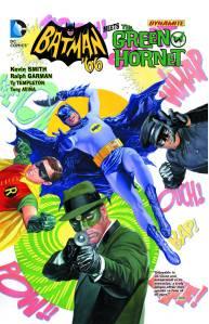BATMAN 66 MEETS THE GREEN HORNET TP $14.99