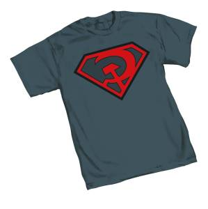 SUPERMAN RED SUN SYMBOL T/S LG $18.95