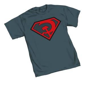 SUPERMAN RED SUN SYMBOL T/S LG $18.95