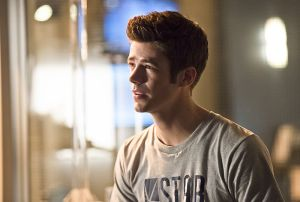 """The Flash -- """"Gorilla Warfare"""" -- Image FLA207B_0037b.jpg -- Pictured: Grant Gustin as Barry Allen -- Photo: Cate Cameron/The CW -- © 2015 The CW Network, LLC. All rights reserved."""