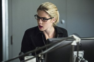 """Arrow -- """"Lost Souls"""" -- Image AR406A_0129b.jpg -- Pictured: Emily Bett Rickards as Felicity Smoak -- Photo: Cate Cameron/ The CW -- © 2015 The CW Network, LLC. All Rights Reserved."""