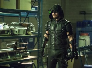 """Arrow -- """"Lost Souls"""" -- Image AR406B_0096b3.jpg -- Pictured: Stephen Amell as The Arrow -- Photo: Cate Cameron/ The CW -- © 2015 The CW Network, LLC. All Rights Reserved."""