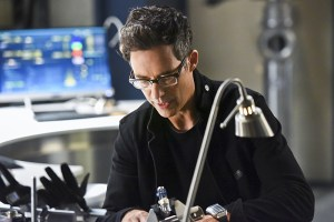 "The Flash -- ""Enter Zoom"" -- Image FLA206B_0057b.jpg -- Pictured: Tom Cavanagh as Harrison Wells -- Photo: Dean Buscher/The CW -- © 2015 The CW Network, LLC. All rights reserved."