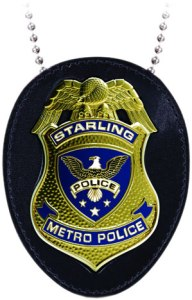 ARROW TV STARLING CITY POLICE BADGE $30.00