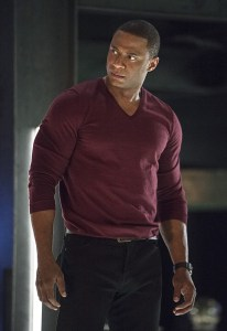 """Arrow -- """"Haunted"""" -- Image AR404B_0190b.jpg -- Pictured: David Ramsey as John Diggle -- Photo: Cate Cameron/ The CW -- © 2015 The CW Network, LLC. All Rights Reserved."""