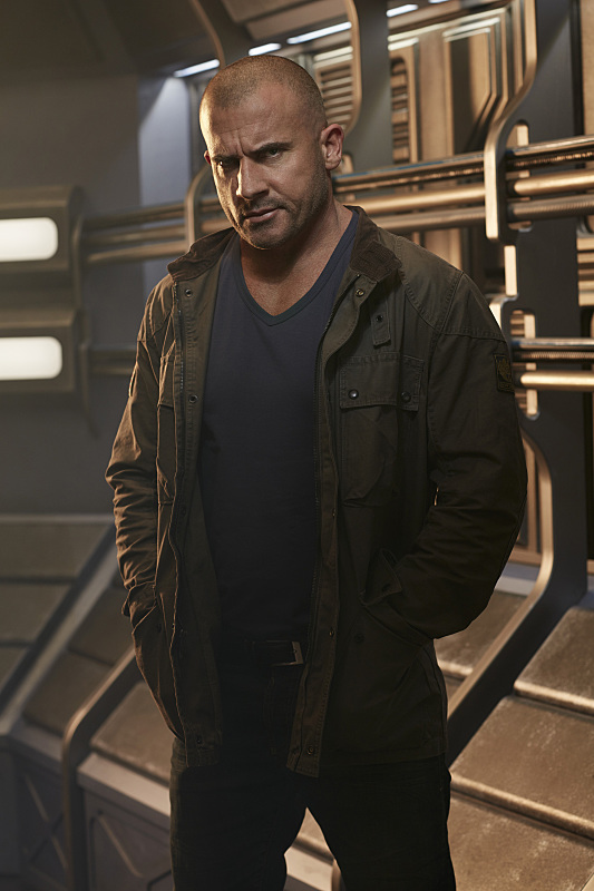 Dominic Purcell as Mick Rory/Heat Wave