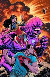 SUPERMAN WONDER WOMAN #24 $3.99