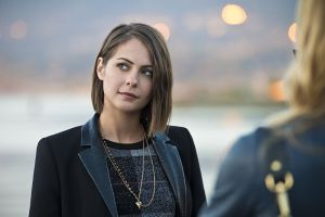 "Arrow -- ""Dark Waters"" -- Image AR409A_0252b.jpg -- Pictured: Willa Holland as Thea Queen -- Photo: Diyah Pera/ The CW -- © 2015 The CW Network, LLC. All Rights Reserved."