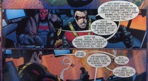 Batman and Robin Eternal 9 Bat Shark Repellent