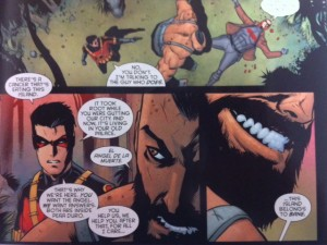 Batman and robin Eternal 9 Bane
