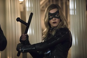 "Arrow -- ""Blood Debts"" -- Image AR410B_0243b.jpg -- Pictured: Katie Cassidy as Black Canary -- Photo: Katie Yu/ The CW -- © 2015 The CW Network, LLC. All Rights Reserved."