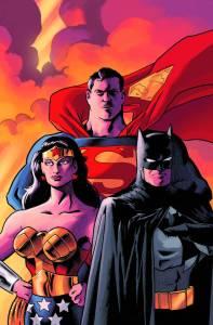 BATMAN SUPERMAN WONDER WOMAN TRINITY DLX ED HC