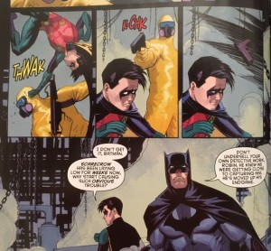 Batman and Robin Eternal 14 Save Robin
