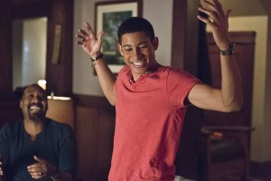 """The Flash -- """"King Shark"""" -- Image FLA215a_0071b -- Pictured: Keiynan Lonsdale as Wally West -- Photo: Cate Cameron/The CW -- © 2016 The CW Network, LLC. All rights reserved."""