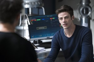 """The Flash -- """"Fast Lane"""" -- Image: FLA212B_0026b.jpg -- Pictured: Grant Gustin as Barry Allen -- Photo: Katie Yu/The CW -- © 2016 The CW Network, LLC. All rights reserved."""