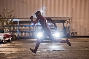 "The Flash -- ""Fast Lane"" -- Image: FLA212A_0160b.jpg -- Pictured: Grant Gustin as The Flash -- Photo: Dean Buscher/The CW -- © 2016 The CW Network, LLC. All rights reserved."