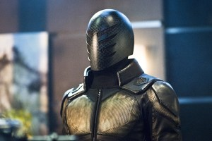 """Arrow -- """"Beacon of Hope"""" -- Image AR417b_0291b.jpg -- Pictured: Exoskeleton -- Photo: Dean Buscher/The CW -- © 2016 The CW Network, LLC. All Rights Reserved."""