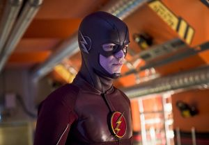 """The Flash -- """"Flash Back"""" -- Image: FLA217b_0380b.jpg -- Pictured: Grant Gustin as The Flash -- Photo: Diyah Pera/The CW -- © 2016 The CW Network, LLC. All rights reserved."""