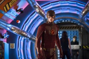 """The Flash -- """"Flash Back"""" -- Image: FLA217b_0308b.jpg -- Pictured: Grant Gustin as The Flash -- Photo: Diyah Pera/The CW -- © 2016 The CW Network, LLC. All rights reserved."""