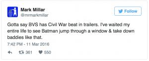 BvS better than Civil war dc comics news
