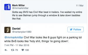 BvS vs Civil War dc comics news