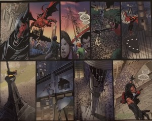 Batman and Robin Eternal 23 Agents in Place