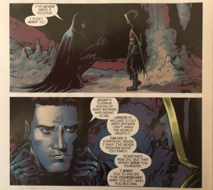 Batman and Robin Eternal 22 Bruces feelings about the Robins