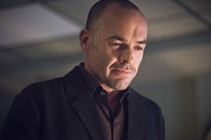 "Arrow -- ""Canary Cry"" -- Image AR419a_0166b.jpg -- Pictured: Paul Blackthorne as Detective Quentin Lance -- Photo: Dean Buscher/The CW -- © 2016 The CW Network, LLC. All Rights Reserved."