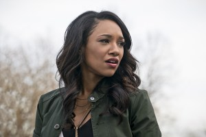 """The Flash -- """"Back to Normal"""" -- Image: FLA219a_0034b.jpg -- Pictured: Candice Patton as Iris West -- Photo: Katie Yu/The CW -- © 2016 The CW Network, LLC. All rights reserved."""