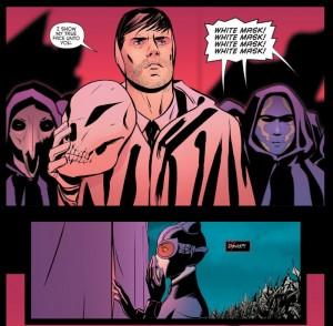Catwoman 51 David is White Mask