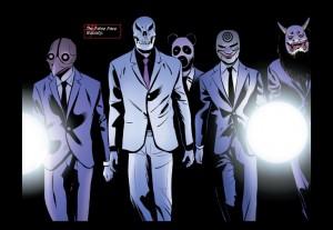 Catwoman 51 False Face Society