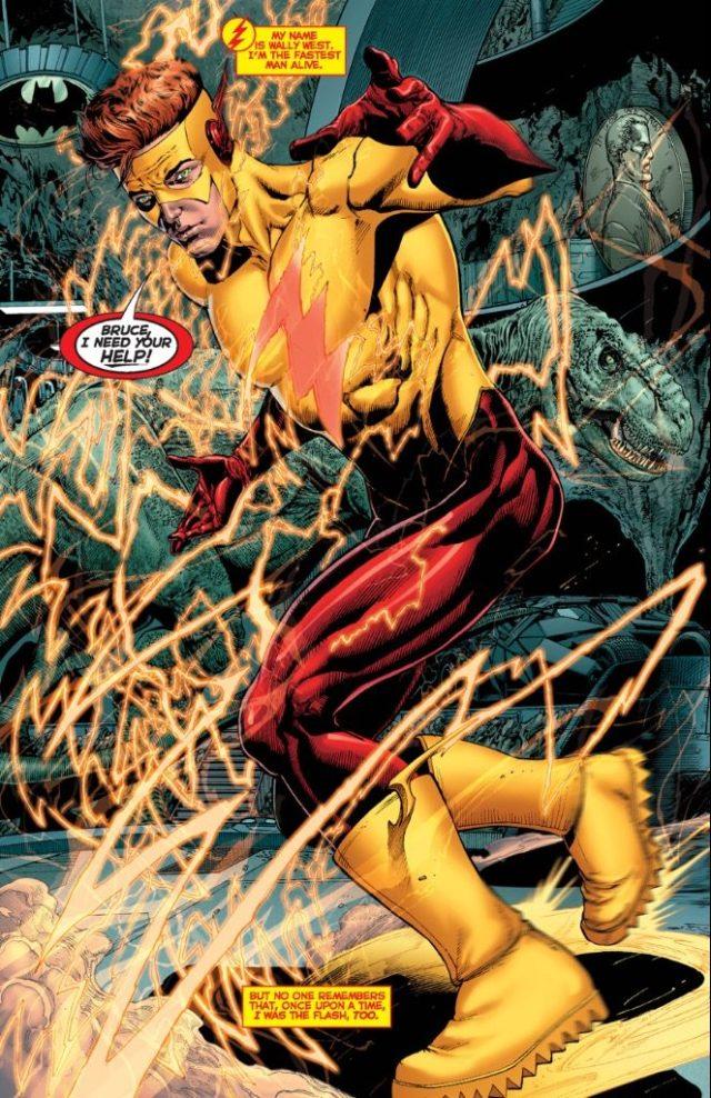 The Flash DC Rebirth Titans