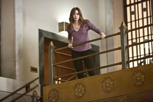 """The Flash -- """"Rupture"""" -- Image: FLA220a_0006b.jpg -- Pictured: Danielle Panabaker as Caitlin Snow -- Photo: Bettina Strauss/The CW -- © 2016 The CW Network, LLC. All rights reserved"""