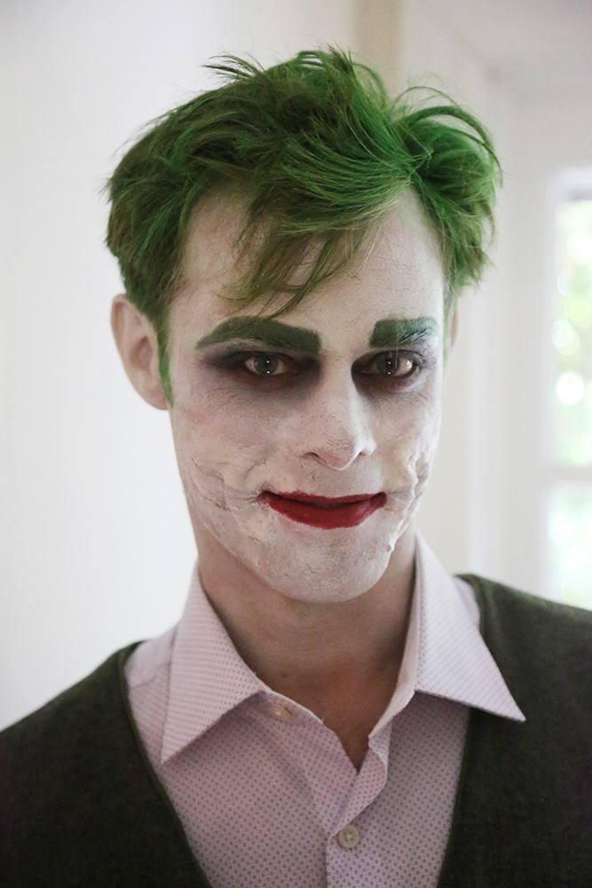 Aaron Gaffey as the Joker
